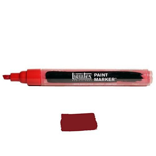 Liquitex Paint marker 2-4mm Cadmium red deep hue